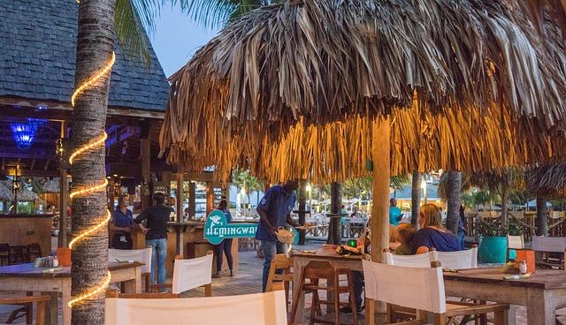Playa del Carmen y sus restaurantes.